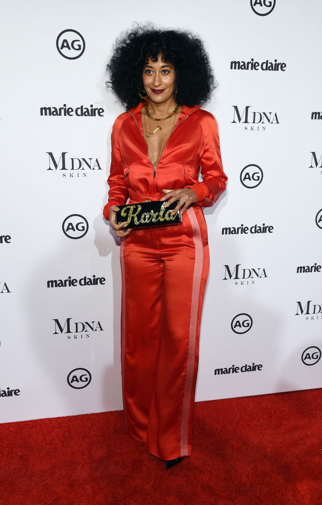 TRACEE ELLIS ROSS AT MARIE CLAIRE'S IMAGE MAKER AWARDS, 2018