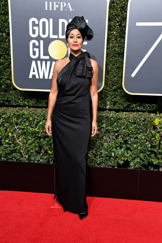 TRACEE ELLIS ROSS AT THE 75TH ANNUAL GOLDEN GLOBE AWARDS, 2019