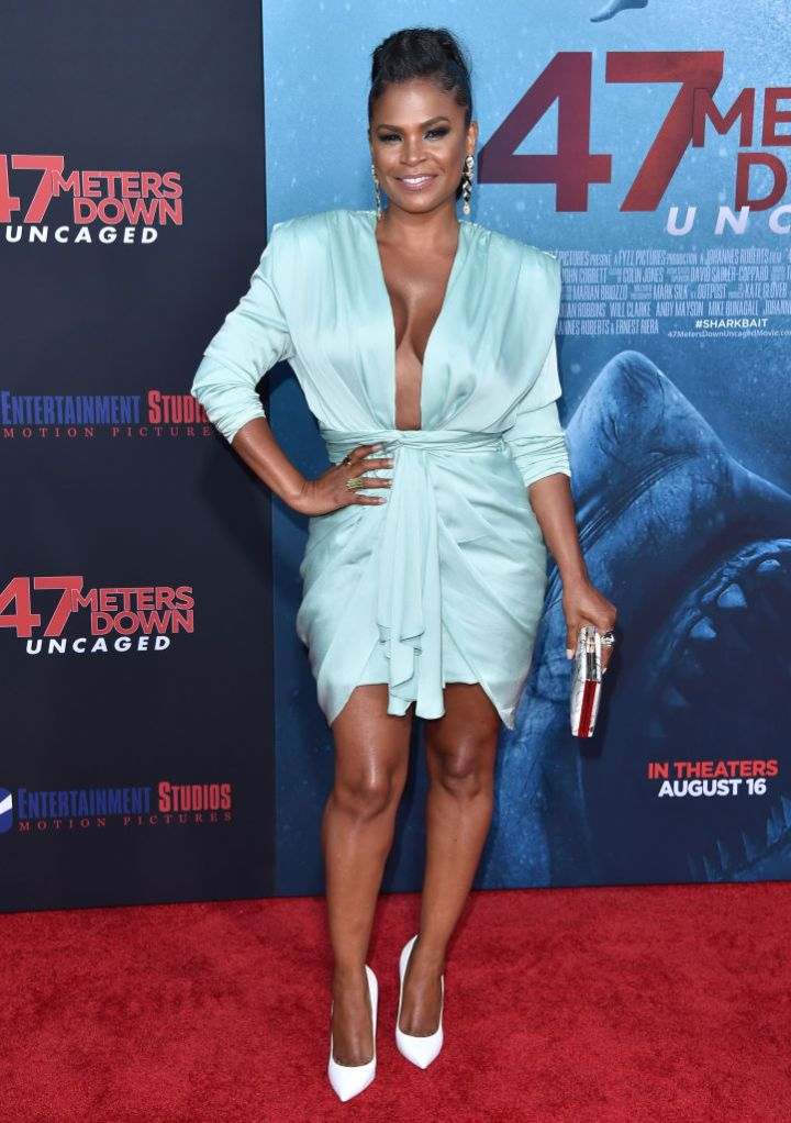 "NIA LONG AT THE LA PREMIERE OF ENTERTAINMENT STUDIOS' ""47 METERS DOWN UNCAGED"", 2019"