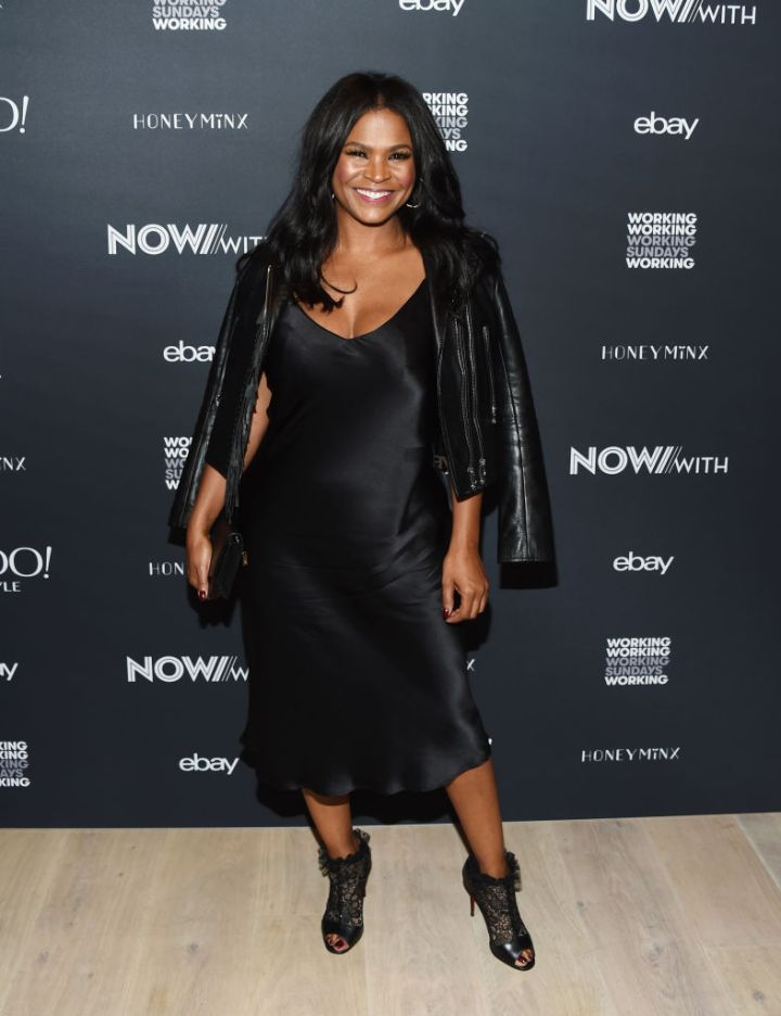 NIA LONG AT NOWWITH AND YAHOO LIFESTYLE EVENT, 2018