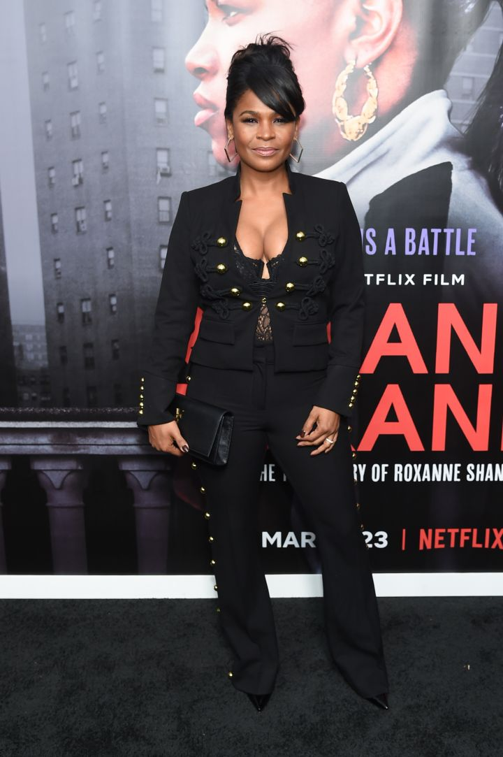 "NIA LONG AT THE NETFLIX SCREENING OF ""ROXANNE ROXANNE"", 2018"