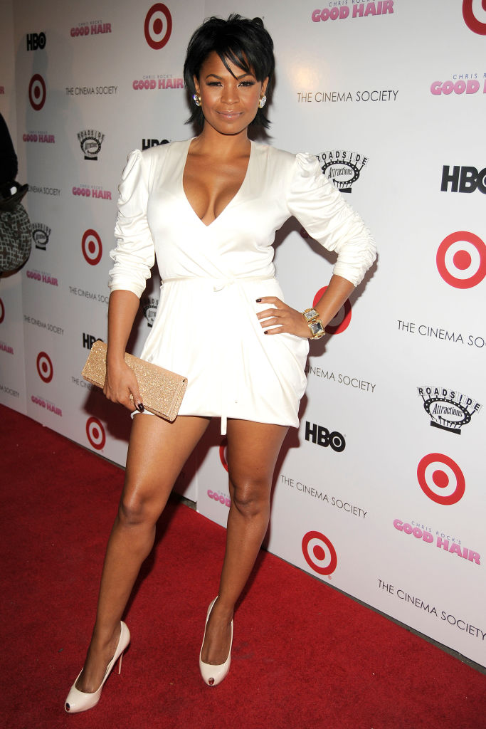 "NIA LONG AT THE ""GOOD HAIR"" SCREENING, 2009"