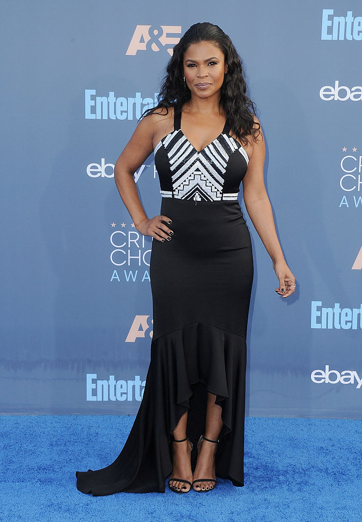 NIA LONG AT THE 22ND ANNUAL CRITICS' CHOICE AWARDS, 2016