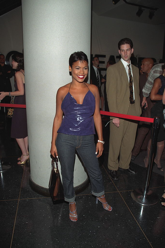 NIA LONG AT THE N.Y.C. PREMIERE OF 'BLADE', 1998