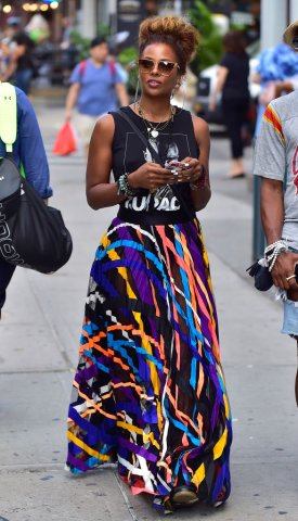 Celebrity Sightings in New York City - August 4, 2017