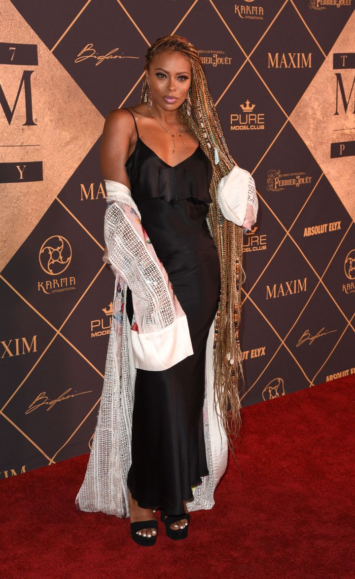EVA MARCILLE AT THE MAXIM HOT 100 PARTY, 2017