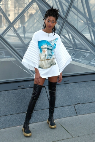 Louis Vuitton : Front Row - Paris Fashion Week Womenswear Fall/Winter 2019/2020