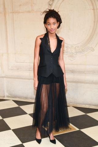 Christian Dior : Front Row - Paris Fashion Week - Haute Couture Spring/Summer 2018