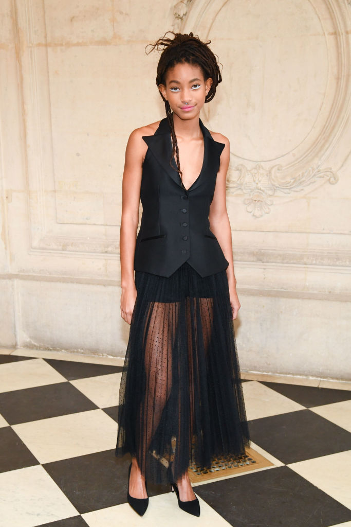 WILLOW SMITH AT THE CHRISTIAN DIOR SHOW FOR PFW, 2018