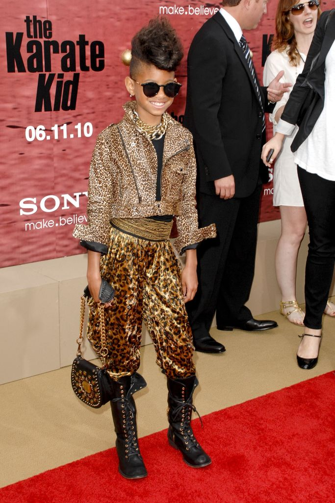 WILLOW SMITH AT THE PREMIERE OF COLUMBIA PICTURES: THE KARATE KID, 2010