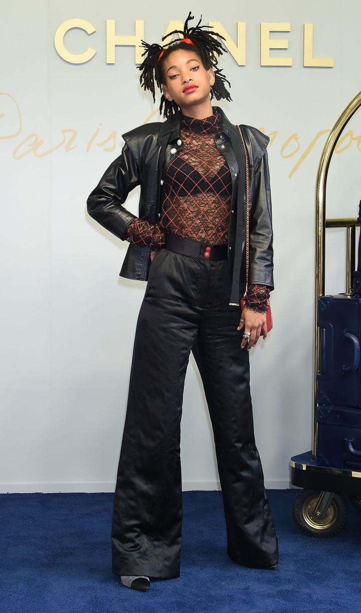 WILLOW SMITH AT CHANEL METIERS D'ART COLLECTION PARIS COSMOPOLITE IN TOKYO, 2017