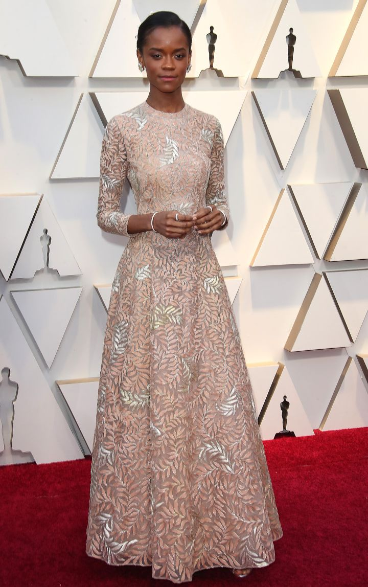 LETITIA WRIGHT AT THE 91ST ANNUAL ACADEMY AWARDS, 2019