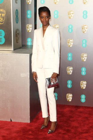Letitia Wright at the EE British Academy Film Awards at the...
