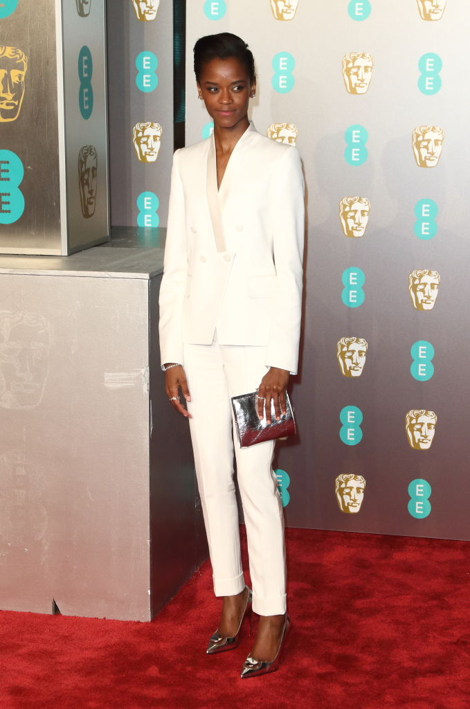 LETITIA WRIGHT AT THE EE BRITISH FILM ACADEMY AWARDS, 2019
