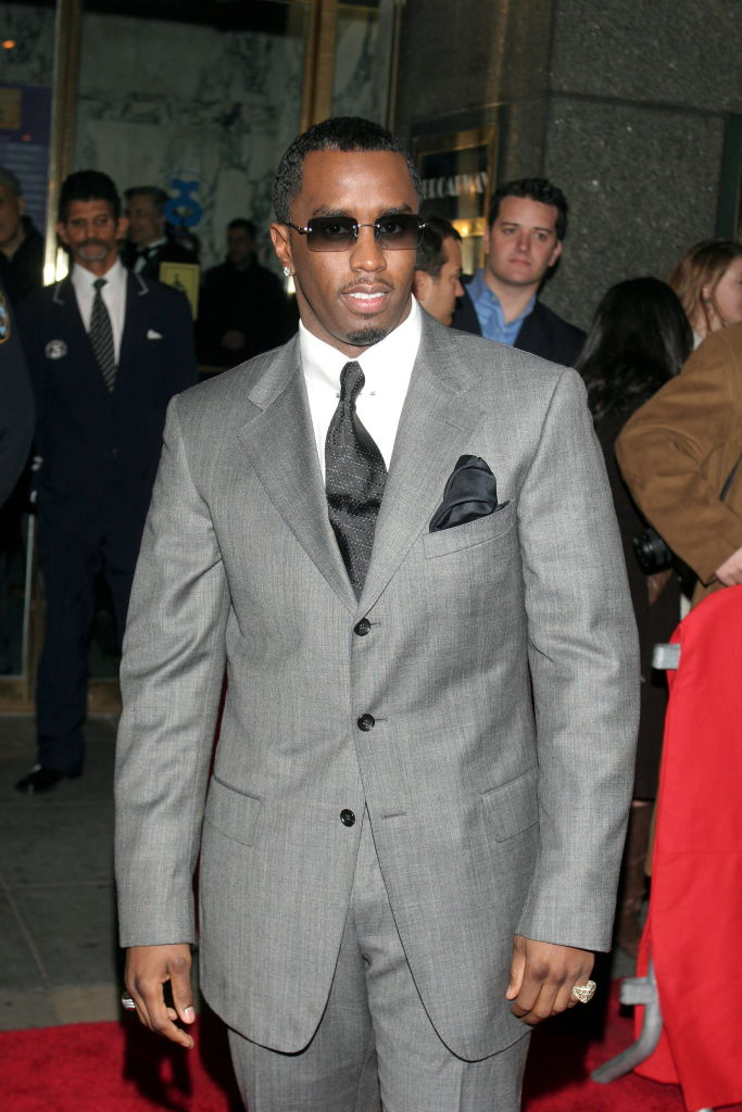 "SEAN COMBS AT THE BROADWAY OPENING OF ""THE COLOR PURPLE"", 2005"