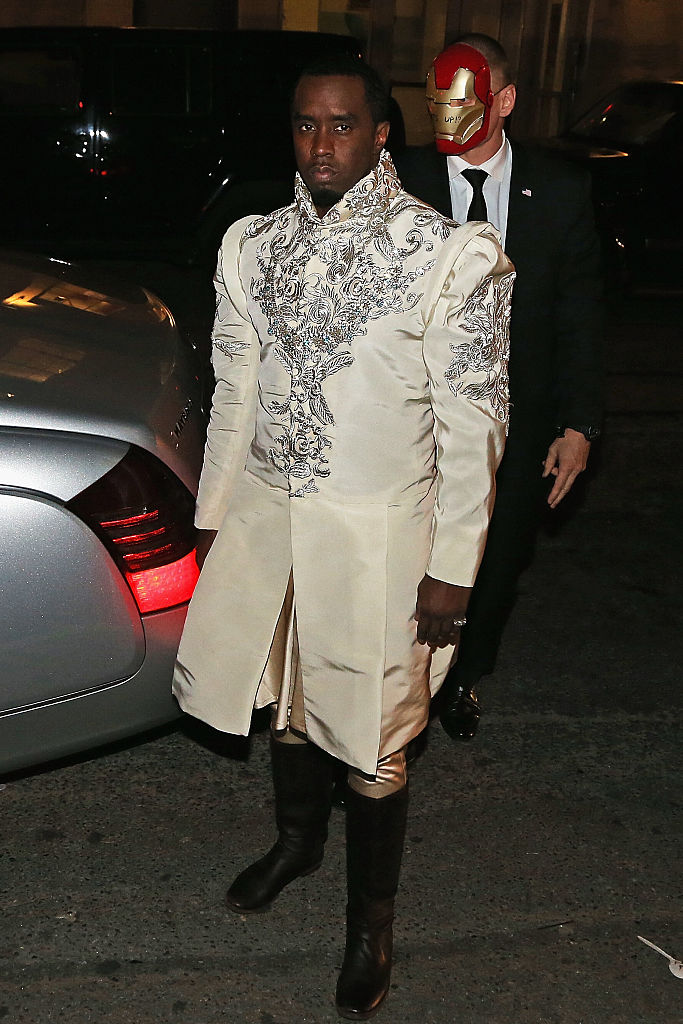SEAN COMBS AT HIS APPLE INFUSED VODKA LAUNCH PARTY, 2015