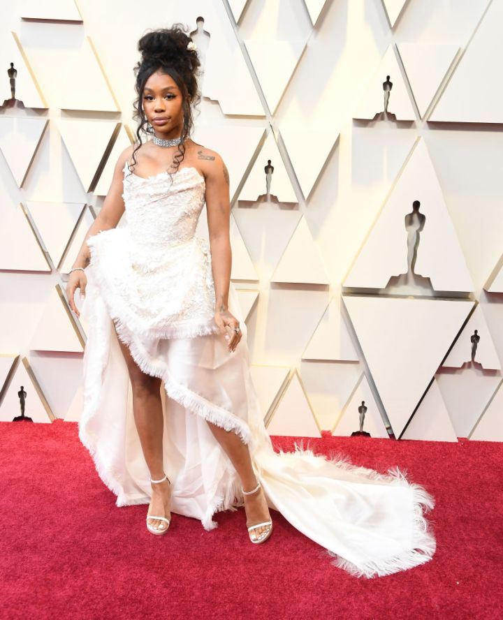 SZA AT THE 91ST ANNUAL ACADEMY AWARDS, 2019