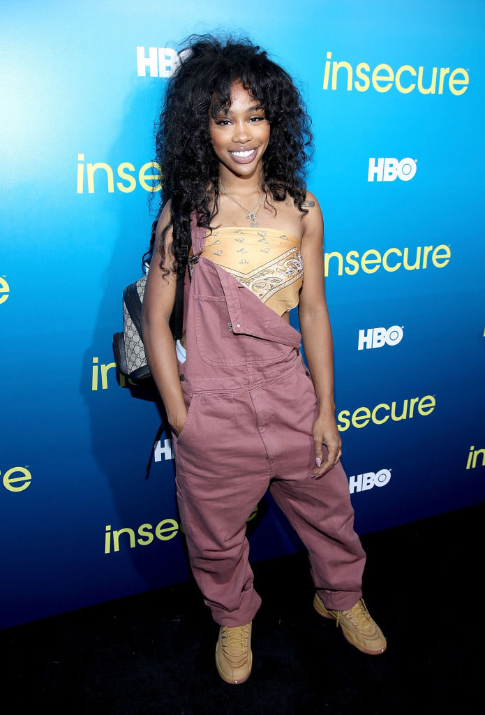 """SZA AT THE HBO CELEBRATION OF """"Insecure"""", 2017"""