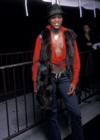 EVE AT THE VH1/VOGUE FASHION AWARDS PRE-PARTY, 2000