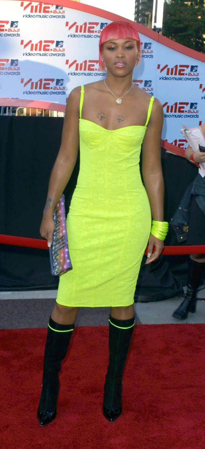 EVE AT THE MTV VIDEO MUSIC AWARDS, 2001