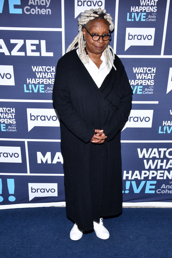 WHOOPI GOLDBERG AT WATCH WHAT HAPPENS LIVE, 2019