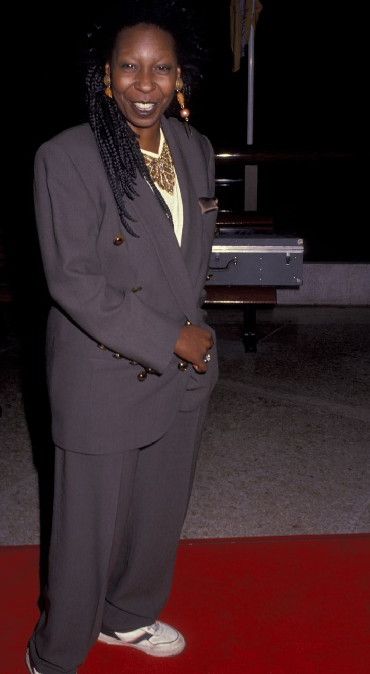 "WHOOPI GOLDBERG AT THE PREMIERE OF ""THE LONG WALK HOME"", 1990"