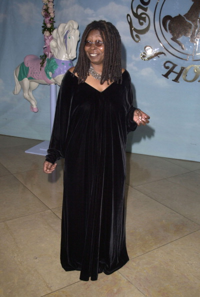 WHOOPI GOLDBERG AT THE 14TH CAROUSEL OF HOPE BALL, 2000