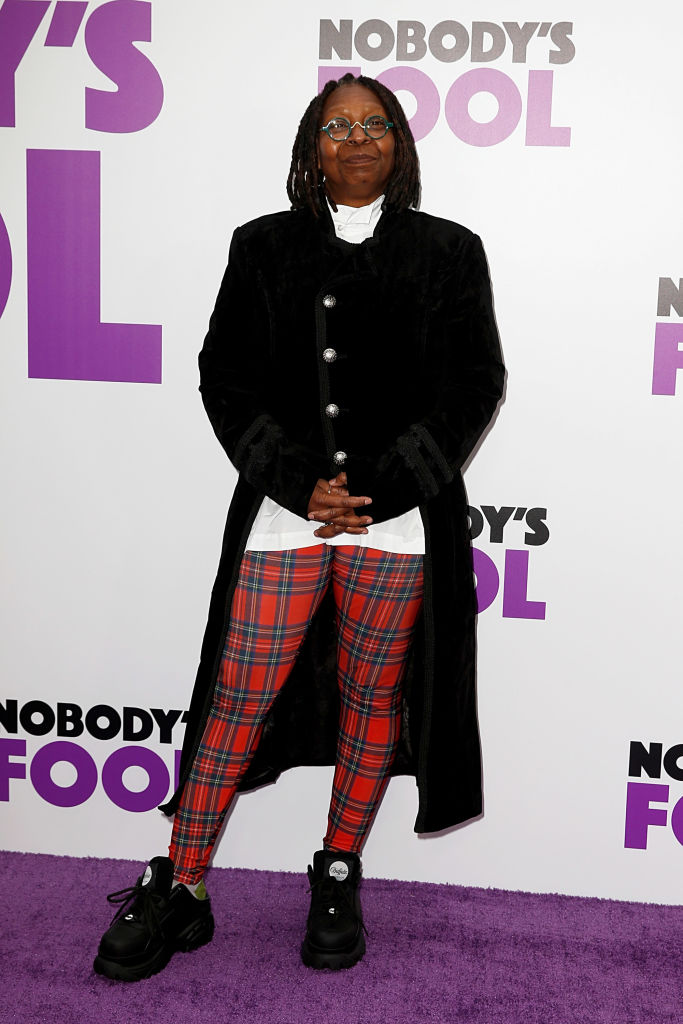 "WHOOPI GOLDBERG AT THE ""NOBODY'S FOOL"" PREMIERE, 2018"