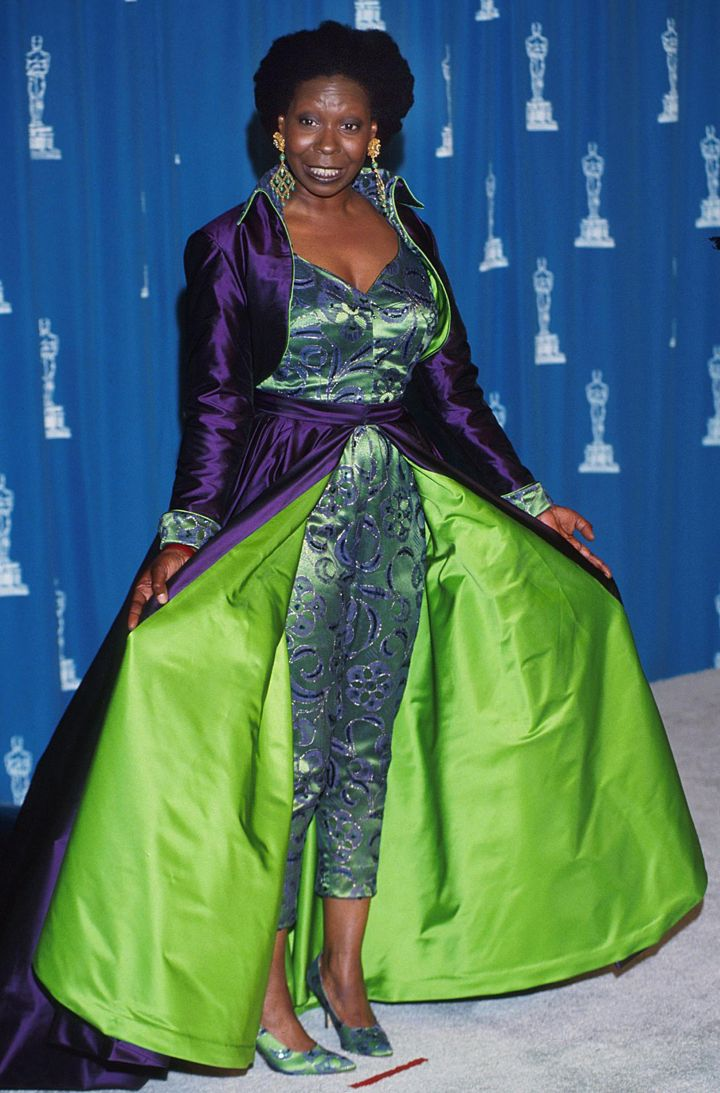WHOOPI GOLDBERG AT THE 65TH ANNUAL ACADEMY AWARDS, 1993