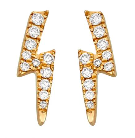 Lighting Bolt Earrings ($350)