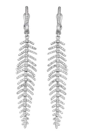 Feather Earrings ($