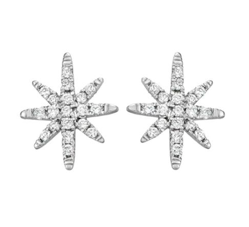 Starburst Earrings ($425)