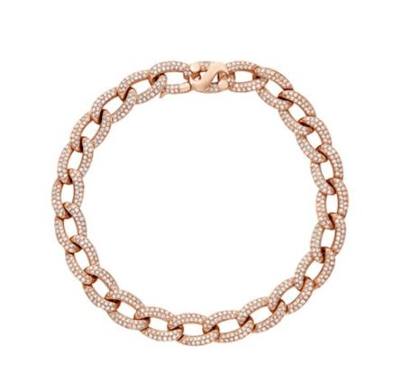 Oval Cuban Link Bracelet ($6,250.00)