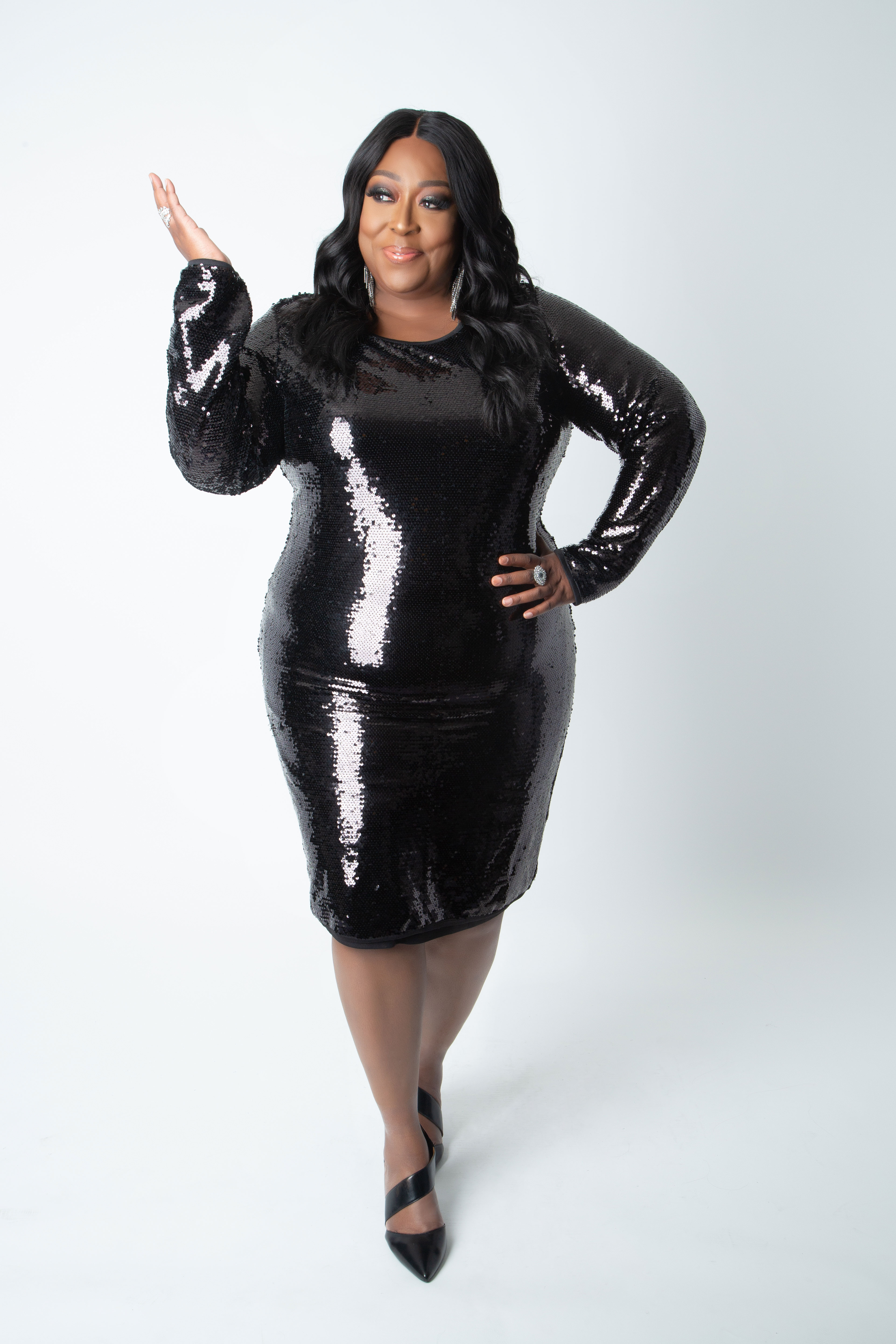Ashley Stewart x Loni Love Holiday Collection