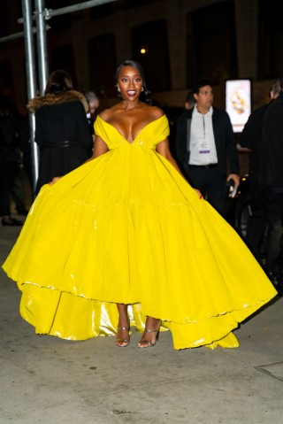 Celebrity Sightings In New York City - November 11, 2019