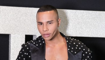 Olivier Rousteing in Sao Paulo