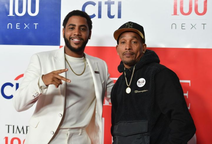"""Jharrel Jerome and Exonerated Five activist Korey Wise at """"Time 100 Next"""" gala"""
