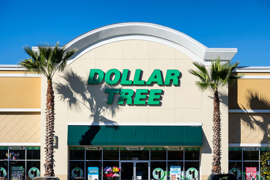 Dollor Tree store exterior and sign...