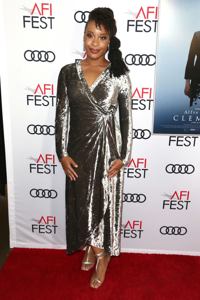 "Director Chinonye Chukwu at the ""Clemency"" Premiere at AFI"