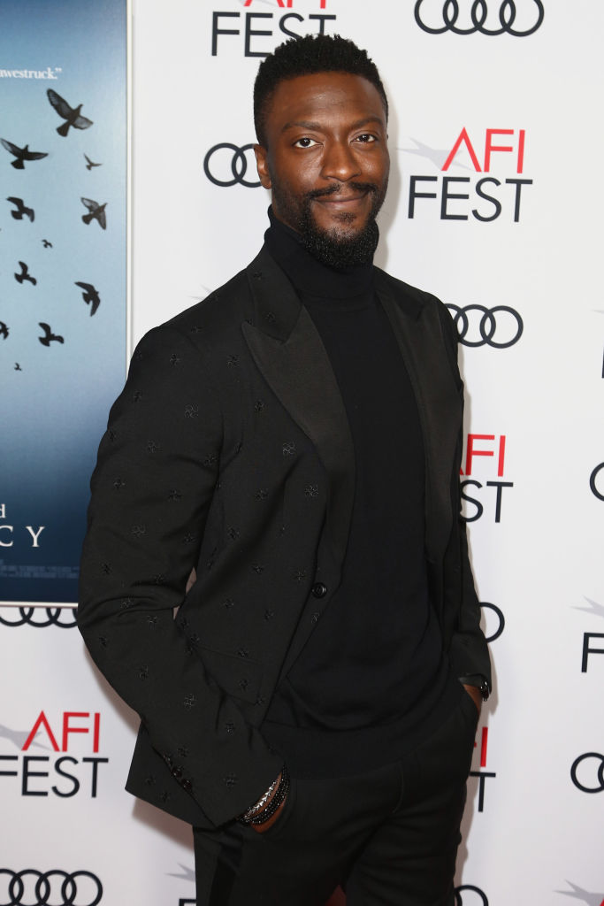 """Aldis Hodge at """"Clemency"""" Premiere at AFI"""