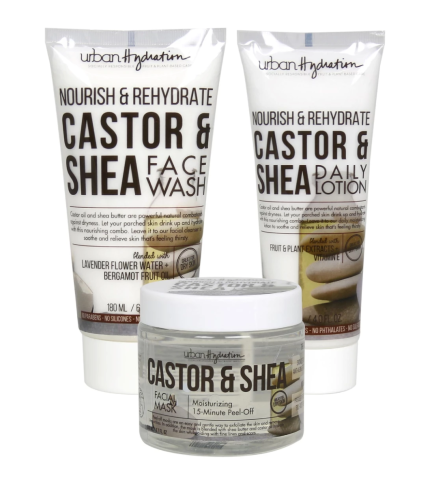 Urban Hydration Nourish & Rehydrate Castor & Shea Set