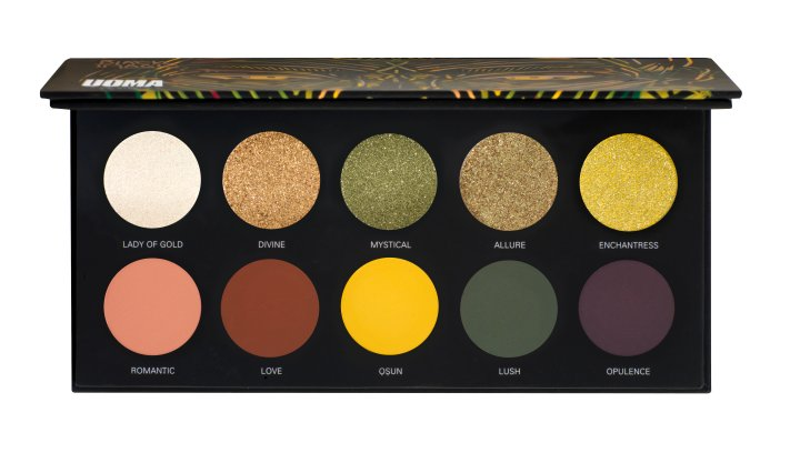 Uoma Black Magic Eyeshadow Palette