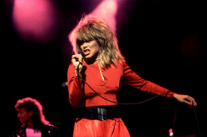 Tina Turner At The Poplar Creek Music Theater