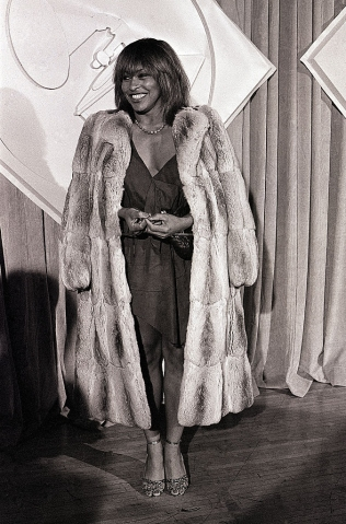 Tina Turner Posing at the Grammy Awards