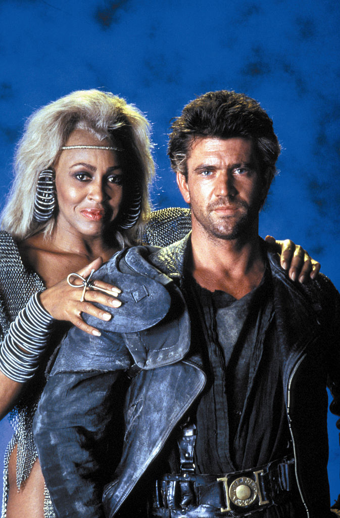 On the set of 'Mad Max Beyond Thunderdome,' 1989