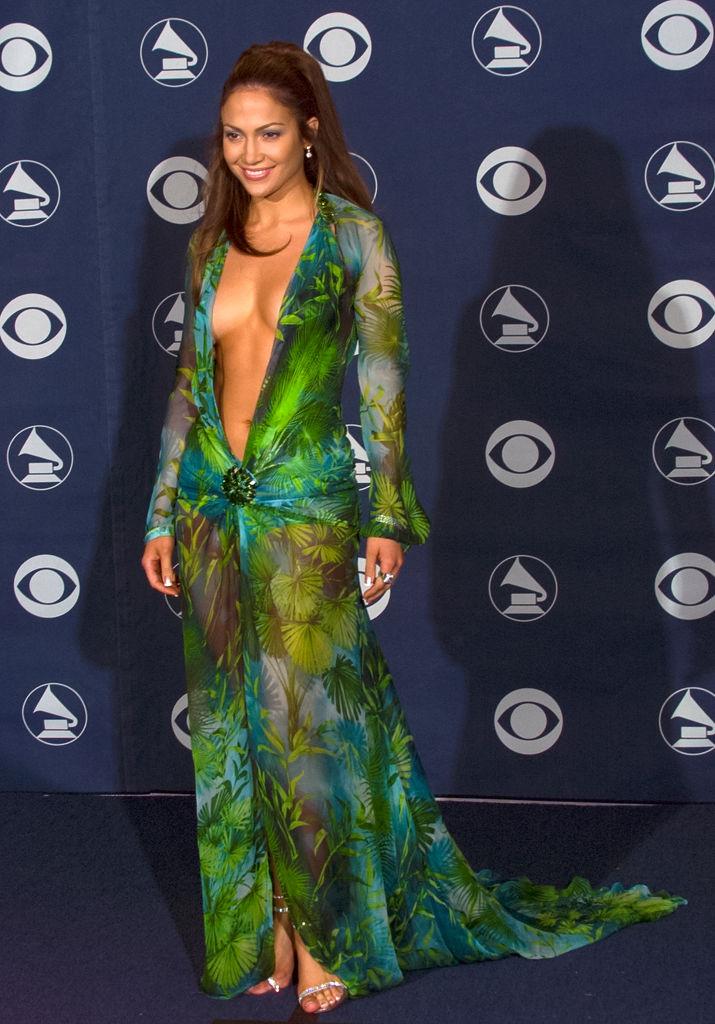 Jennifer Lopez at Grammy Awards