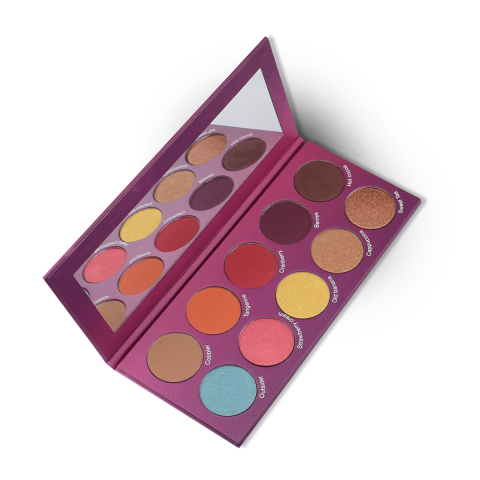 The Crayon Case Watch Me Blush Palette