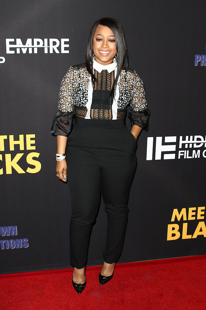 """TRINA AT THE PREMIERE OF FREESTYLE RELEASING'S """"MEET THE BLACKS"""" - 2016"""