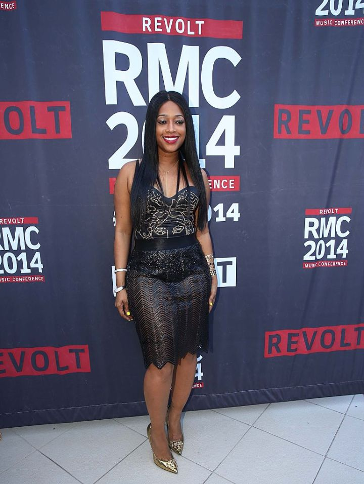 TRINA AT THE REVOLT MUSIC CONFERENCE, 2014