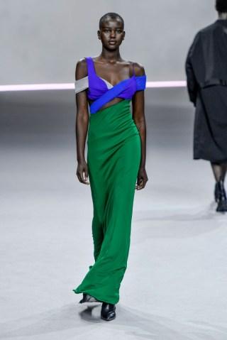 Haider Ackermann : Runway - Paris Fashion Week - Womenswear Spring Summer 2020